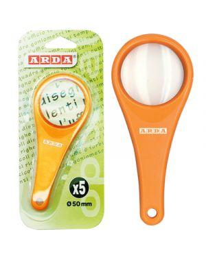 Lente di ingrandimento in plastica 5 cm. ingrandimenti 5x ARDA 628 8003438011374 628