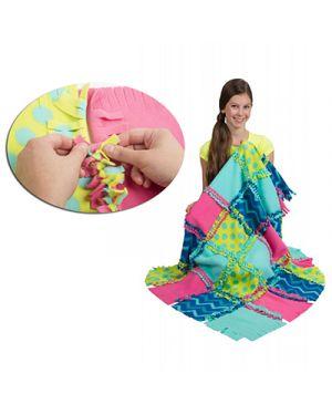 Crea la tua coperta con quadrati diversi ALEX TOY 553010 0731346553010 553010