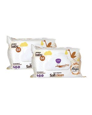 Salviette clendy baby soft clean all'olio di argan pz.64 CLENDY 119806 8033532151737 119806