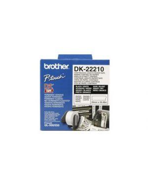 Nastro adesivo nero/bianco DK22210_583Z724
