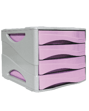Cassettiera keep colour pastel lilla arda 15P4PPASVI  15P4PPASVI