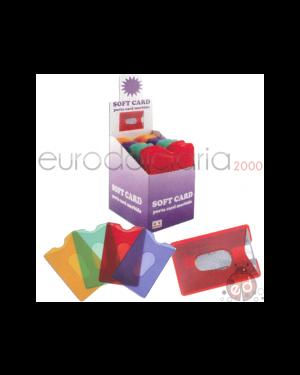 Portacard in pvc softcard colorato ad uno scomparto ALPLAST 901 8015915009019 901
