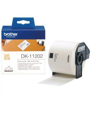 Etichette adesive per ql 500 BROTHER - CONSUMABLES INK DK11202 4977766628143 DK11202_583Z733 by Brother - Consumables