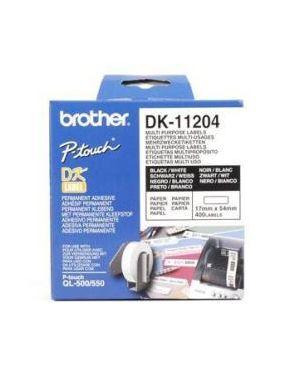 400 etich ades car ner0/bianc 17x54 - Dk11204 DK11204_583Z735