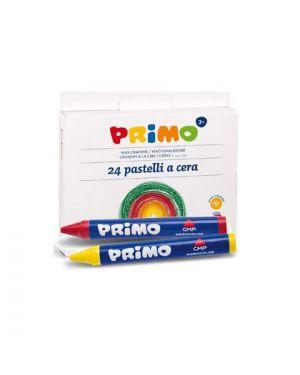 Astuccio 24 pastelli a cera jumbo Ø10,5mm 100mm primo 052PC24I 8006919309540 052PC24I by Primo - Morocolor