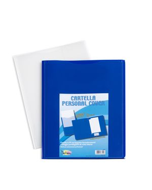 Conf 5 cartelle in pp personal cover blu 240x320mm iternet 7151BL 8028422671518 7151BL by Turikan