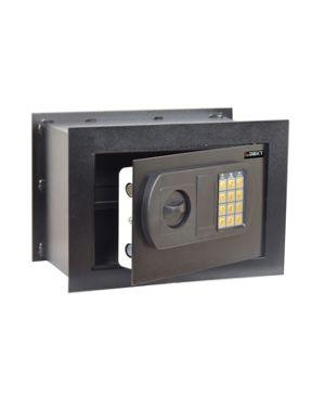 Cassaforte da muro con serratura elettronica 330x200x230mm iternet SSWHFE 8028422508883 SSWHFE by Iternet