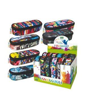 80470 i saccuccioli modello round 24x6x10cm graffiti lebez 80470 8007509073315 80470