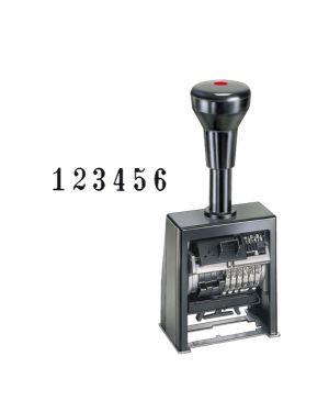 Timbro numeratore autoinchiostrante automatico b6k 6colonne 4,5mm reiner B6K.4,5BLOCK 4011170000062 B6K.4,5BLOCK