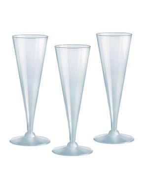 20 bicchieri flutes diamant monouso dopla 22069 8008650029084 22069