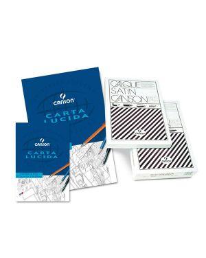Blocco carta lucida manuale 230x330mm 10fg 80gr canson C200005826 3148950058263 C200005826