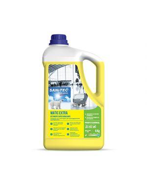 Detergente per pavimenti matic extra supersgrassante kg 6 SANITEC 1445 8032680395895 1445