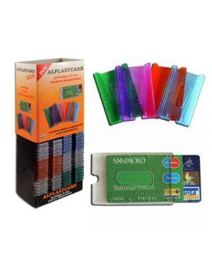 Alplastcard duo portacard rigida a 2 scomparti ALPLAST 1010 8015915010107 1010