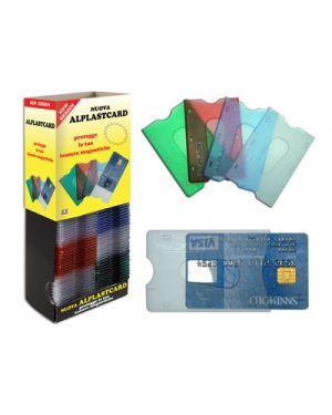 Alplastcard portacard rigida ad 1 scomparto ALPLAST 1009 8015915010091 1009
