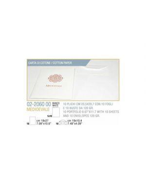 Plico 10 - 10 fogli busta medioevale cm.20,5x29,7 avorio KARTOS 2206000 2000001902530 2206000