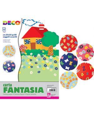 Carta fantasia 23x33 cm fg.12 CWR 6056 8004957060560 6056