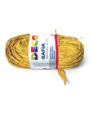 Rafia naturale - pacchetto gr.50 - giallo CWR 4665 8004957046656 4665