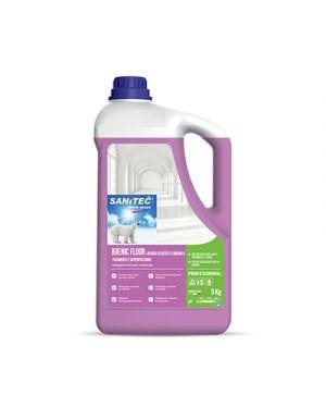 Detergente per pavimenti igienic lavanda selvatica e camomilla kg 5 SANITEC 1436 8032680392085 1436