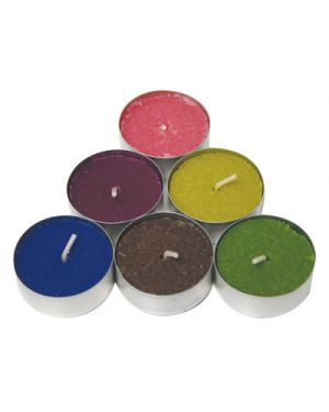 Candele tea light profumate diametro cm.3,6 pz.10 STAR 33177 8021785331778 33177