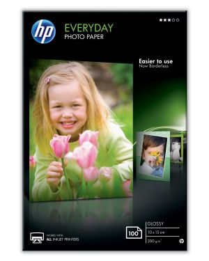 Carta everyday glossy photo HP - INKJET SUPPLY NON CENTRAL (1N) CR757A 886111974887 CR757A_9435PWD
