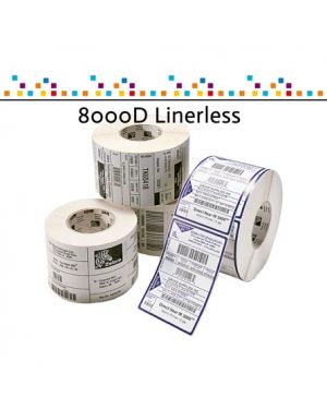 Coated 8000d linerless ZEBRA - AIT_BCSP_S1_1 3013255 5656565656562 3013255