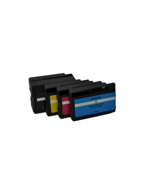 Cartuccia hp 932xl bk+933xl cmy V7 - TONER AND INK V7-HP053AE-INK4 662919105476 V7-HP053AE-INK4