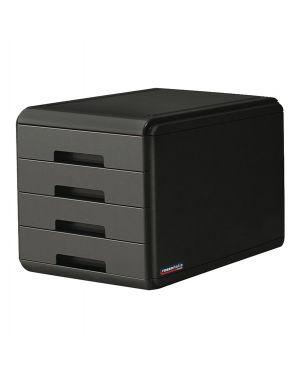 Cassettiera 4 cassetti carbonio rossoitalia arda 18P4PRIN 8003438019455 18P4PRIN