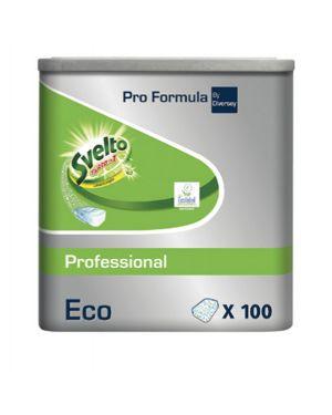 Fustino 100 tabs 20g 3in1 eco per lavastoviglie svelto 101101881 7615400783205 101101881