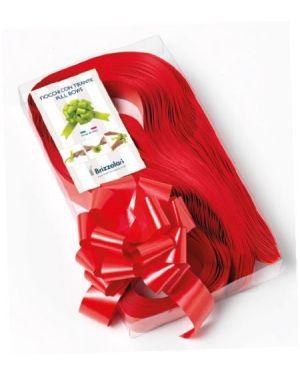 Fiocco strip auto 31x130 rosso Brizzolari 003132-07 8031653012104 003132-07