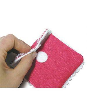 Velcro adesivo dischetti mm.19 pz.24 CWR 8196 8004957081961 8196