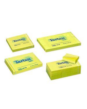 Blocco tartan 7676 giallo 76x76mm 100fg 63gr 7100199984 3134375060080 7100199984