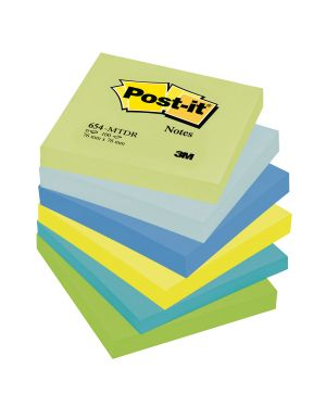 Blocco 100foglietti post-it® 76x76mm 654-mtdr dream 72gr assortito 7100172316 4046719506385 7100172316