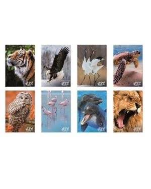 Quaderni Animal Wild Life A4 80gr 5mm - Blasetti 6872 8007758268722 6872
