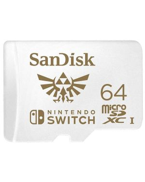 Micro sdxc cobranded nintendo Sandisk SDSQXAT-064G-GNCZN 619659171537 SDSQXAT-064G-GNCZN