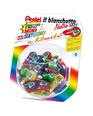 0100959 boccia con 48pz il bianchetto nastro 5mmx6mt in colori ass. pentel 100959 8006935009592 100959