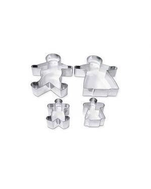 Stampini acciaio famiglia pz.4 CWR 7445 8004957074451 7445