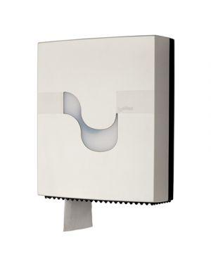 Dispenser carta igienica maxi jumbo col.bianco l 315xp 115x h 375 mm CELTEX 92220 8022650922206 92220
