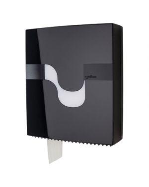 Dispenser carta igienica maxi jumbo col.nero l 315xp 115x h 375 mm CELTEX 92200 8022650922008 92200