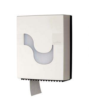 Dispenser carta igienica mini jumbo col.bianco l 235xp 115x h 295 mm CELTEX 92230 8022650922305 92230
