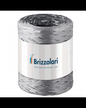 Rafia sintetica 6802 5mmx200mt colore argento 44 brizzolari 1003744 8031653208552 1003744