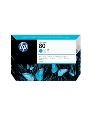 Cartuccia ink ciano hp n.80 (350ml HP Inc C4846A 88698629161 C4846A_943H919