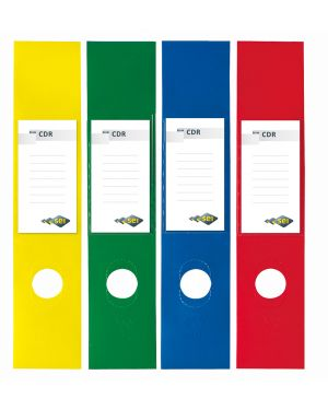 Busta 10 copridorso cdr pvc adesivi blu 7x34,5cm sei rota 58012537 8004972008868 58012537