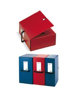 Scatola archivio big 120 250x350mm blu c - maniglia sei rota 68001207 8004972012032 68001207