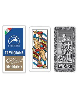 Carte trevigiane blu 150 modiano pz.40 MODIANO 300139 8003080001396 300139 by No