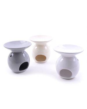 Brucia essenze in ceramica diam.12 h.13 cm col. ass MERCURY 36935 8034052236935 36935