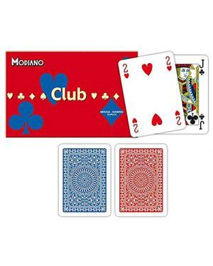 Carte ramino club doppio modiano pz.108 MODIANO 300384 8003080003840 300384 by No