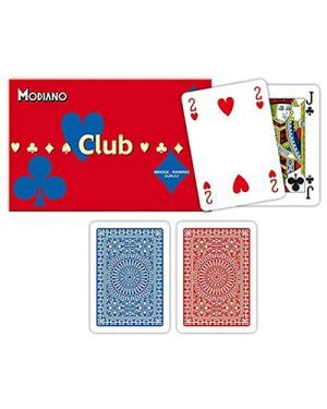 Carte ramino club doppio modiano pz.108 MODIANO 300384 8003080003840 300384