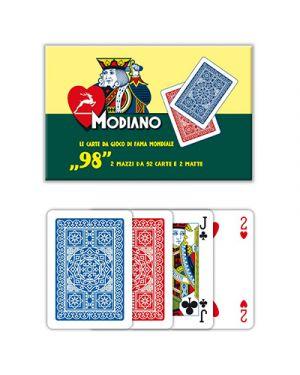 Carte ramino 98 doppio modiano pz.108 MODIANO 300254 8003080002546 300254 by No