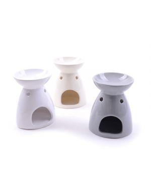 Brucia essenze in ceramica diam.10 h.13 cm col. ass MERCURY 36928 8034052236928 36928