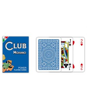 Carte poker club blu modiano pz.54 MODIANO 300380 8003080003802 300380 by No